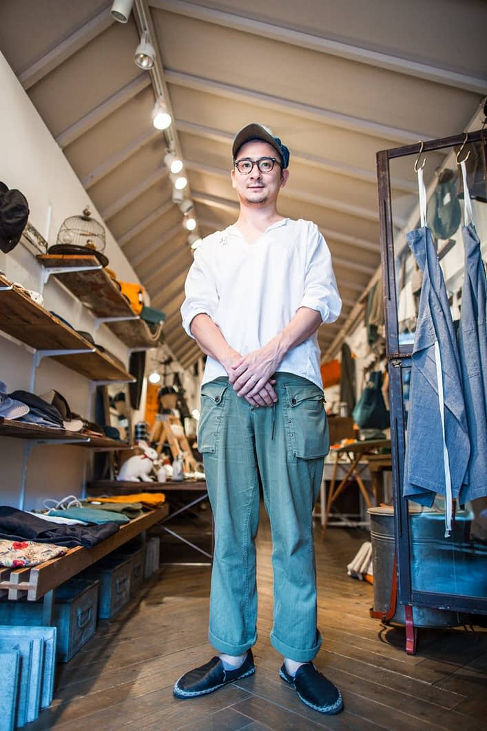 Motoda-san is the entrepreneur and dreamer behind this booming handmade hat company.