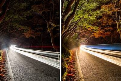 Night Drive with LED