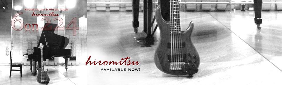 和泉宏隆(pf)&須藤満(6-string-bass) HIROMITSU debut!