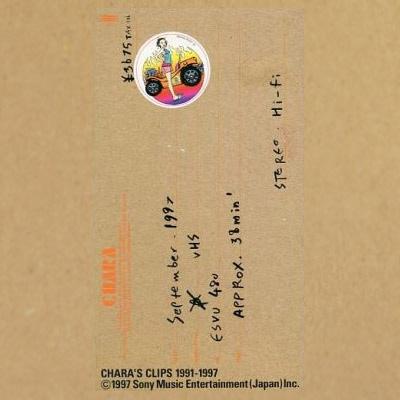 CHARA'S CLIPS 1991~2001